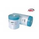 Ruban adhésif en tissu avec film de protection dépliable en HDPE